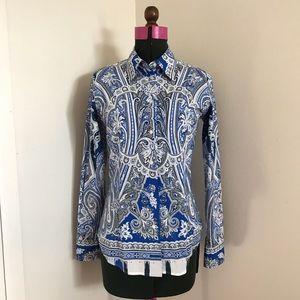 💯 Authentic NWOT Etro Paisley shirt